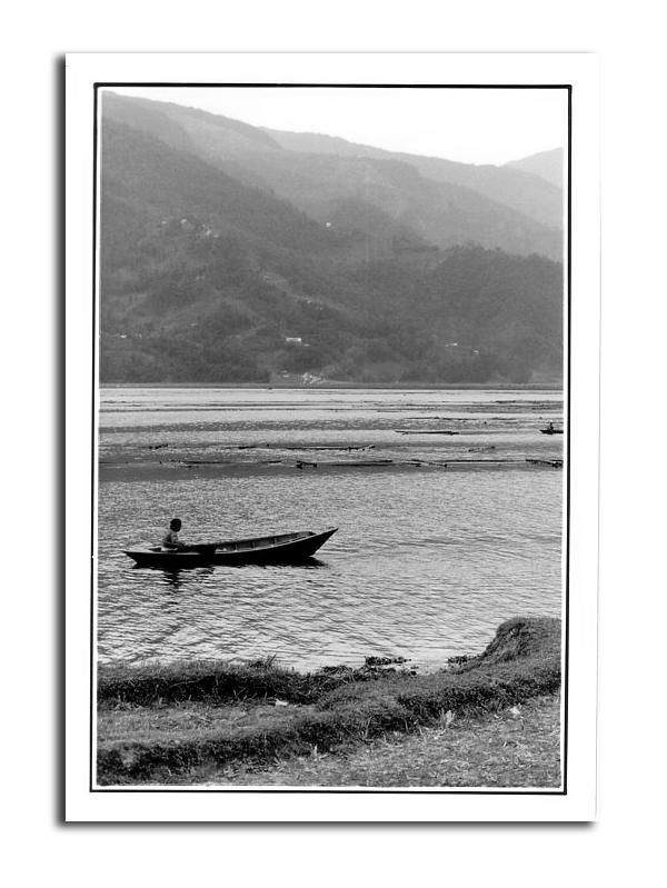 Lac Fewa de Pokhara