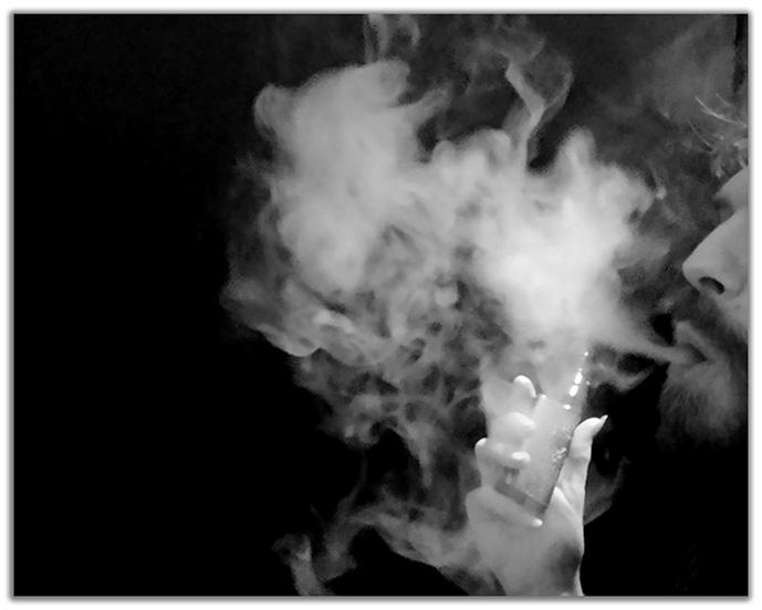 nuage de vapeur