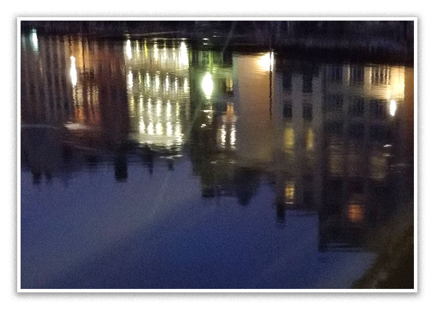 Reflets sur la Saône