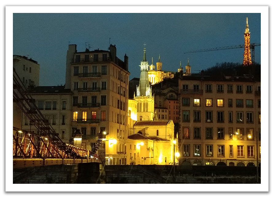 Saint-Paul Lyon de nuit
