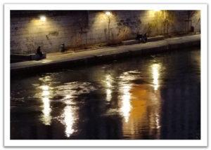 Flâneries nocturnes en bord de Saône